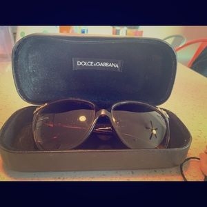 Authentic Dolce & Gabbana Sunglasses- gently worn